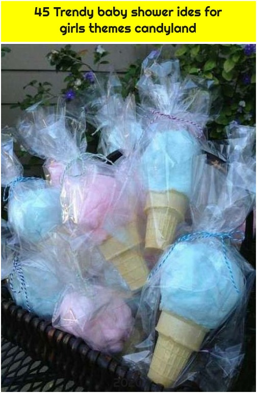 45 Trendy baby shower ides for girls themes candyland