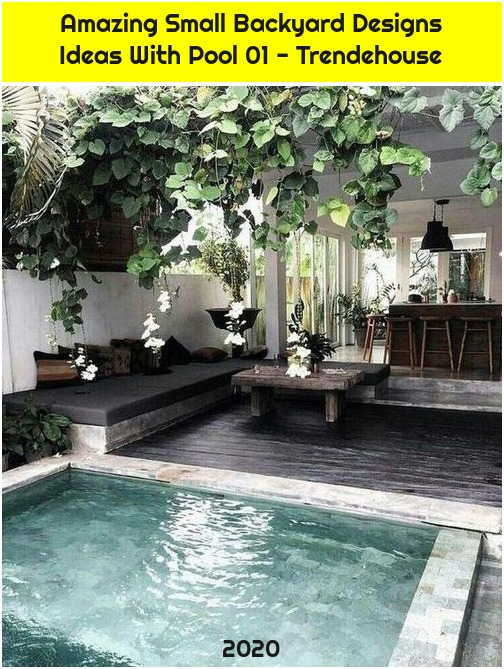 Amazing Small Backyard Designs Ideas With Pool 01 - Trendehouse