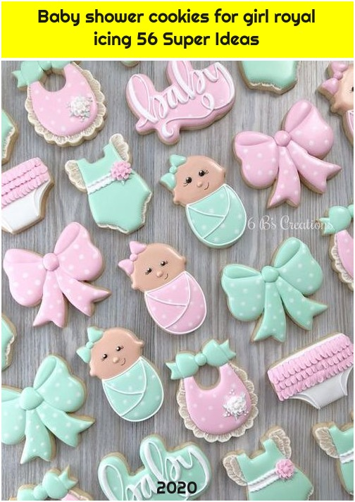 Baby shower cookies for girl royal icing 56 Super Ideas