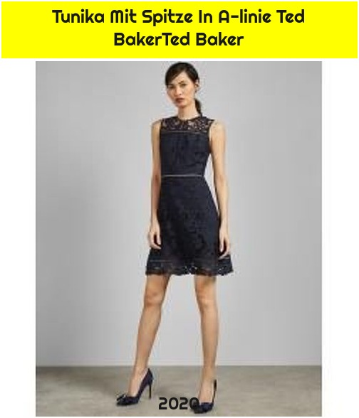 Tunika Mit Spitze In A-linie Ted BakerTed Baker
