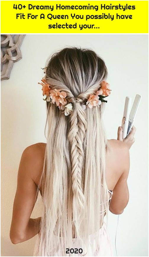 40+ Dreamy Homecoming Hairstyles Fit For A Queen You possibly have selected your...