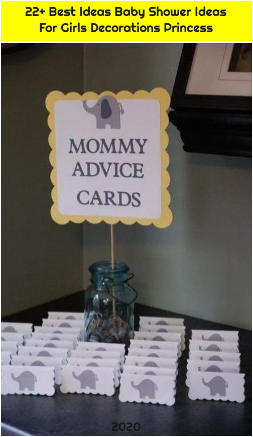 22+ Best Ideas Baby Shower Ideas For Girls Decorations Princess