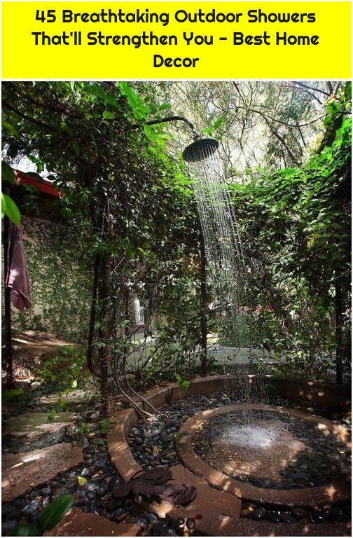 45 Breathtaking Outdoor Showers That'll Strengthen You - Best Home Decor