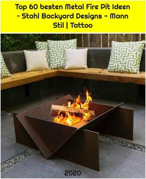 Top 60 besten Metal Fire Pit Ideen – Stahl Backyard Designs - Mann Stil | Tattoo