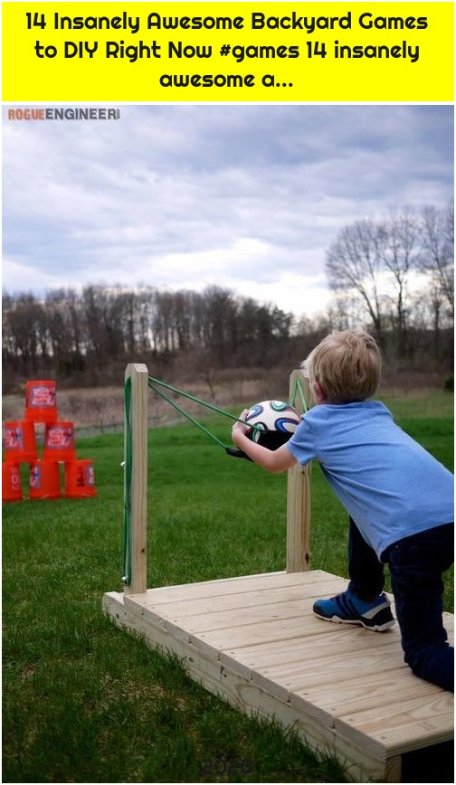 14 Insanely Awesome Backyard Games to DIY Right Now #games 14 insanely awesome a...