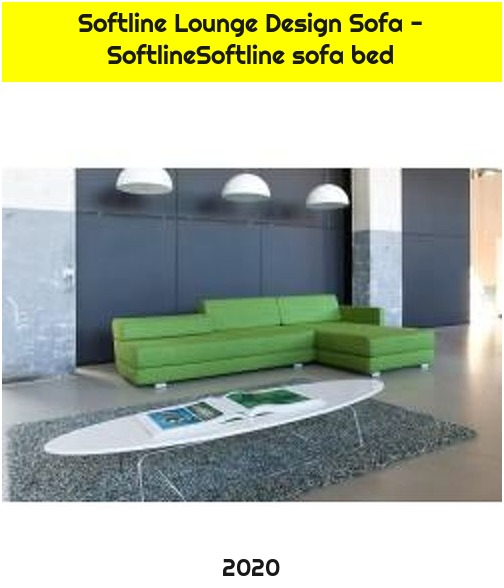Softline Lounge Design Sofa - SoftlineSoftline sofa bed