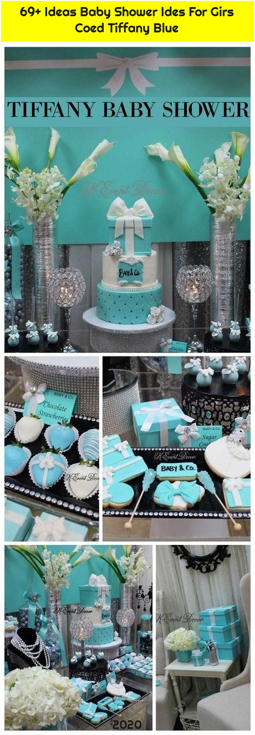 69+ Ideas Baby Shower Ides For Girs Coed Tiffany Blue