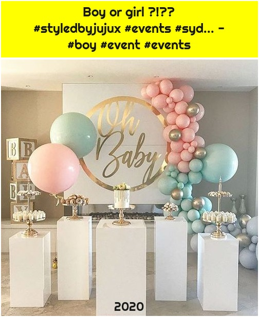 Boy or girl ?!💗💙 #styledbyjujux #events #syd... - #boy #event #events