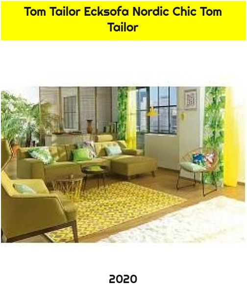 Tom Tailor Ecksofa Nordic Chic Tom Tailor