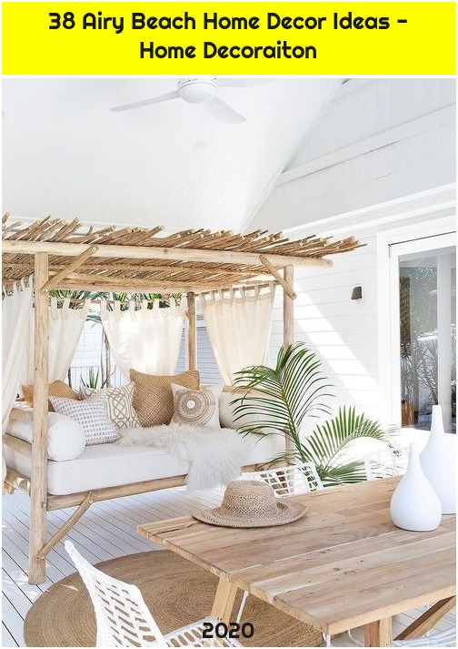 38 Airy Beach Home Decor Ideas - Home Decoraiton