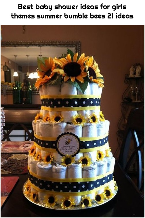 Best baby shower ideas for girls themes summer bumble bees 21 ideas