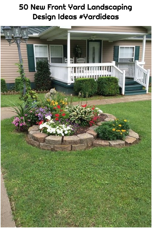 50 New Front Yard Landscaping Design Ideas #Yardideas
