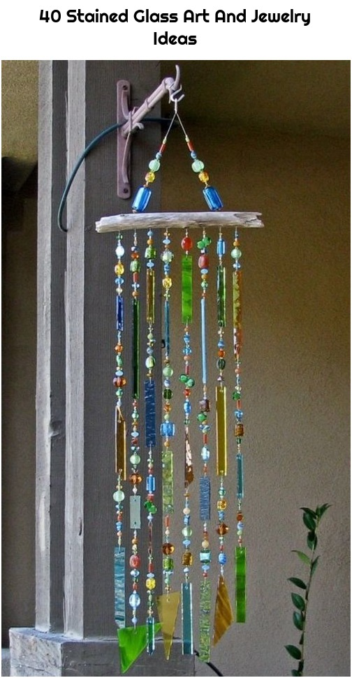 40 Stained Glass Art And Jewelry Ideas