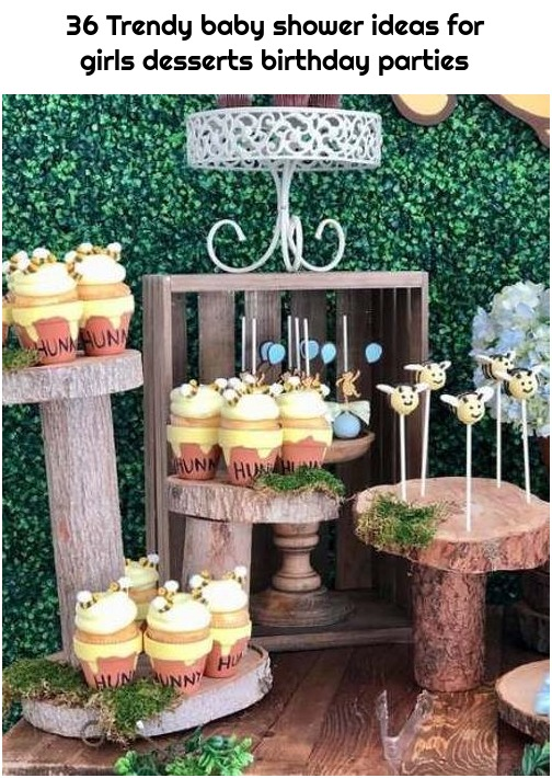 36 Trendy baby shower ideas for girls desserts birthday parties