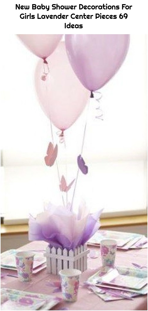 New Baby Shower Decorations For Girls Lavender Center Pieces 69 Ideas
