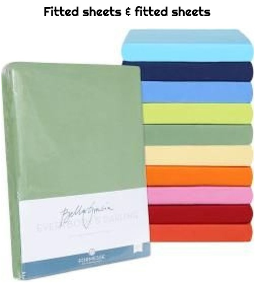 Fitted sheets & fitted sheets