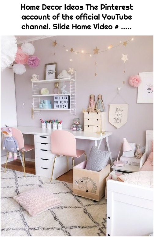Home Decor Ideas The Pinterest account of the official YouTube channel. Slide Home Video # .....