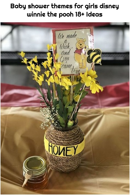 Baby shower themes for girls disney winnie the pooh 18+ Ideas