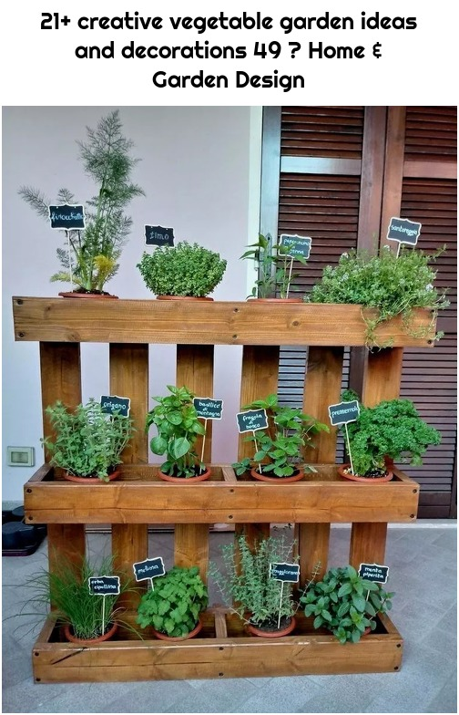 21+ creative vegetable garden ideas and decorations 49 ⋆ Home & Garden Design