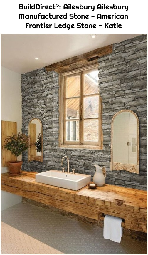 BuildDirect®: Ailesbury Ailesbury Manufactured Stone - American Frontier Ledge Stone - Katie