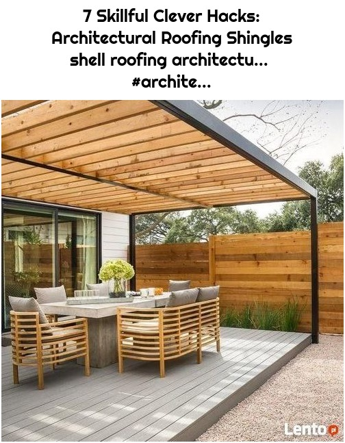 7 Skillful Clever Hacks: Architectural Roofing Shingles shell roofing architectu... #archite...