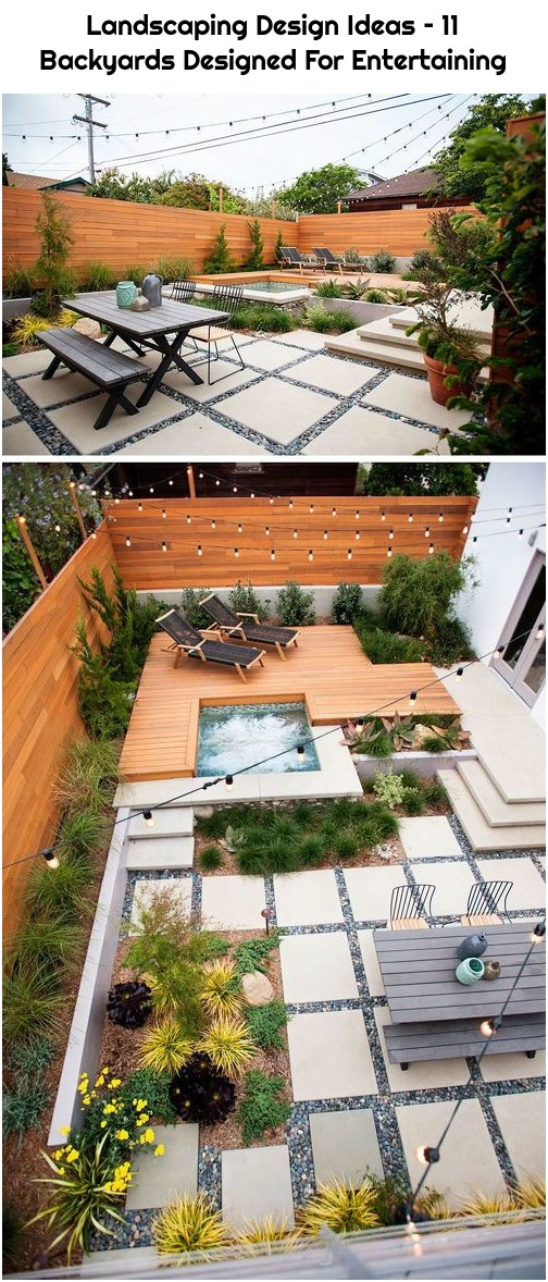 Landscaping Design Ideas – 11 Backyards Designed For Entertaining