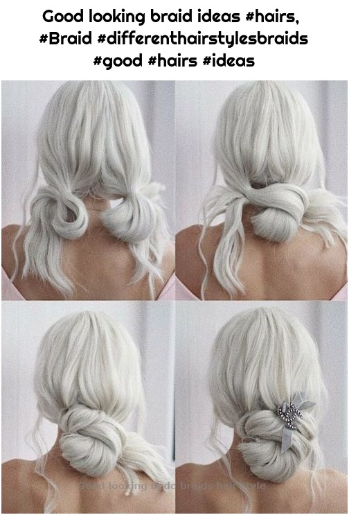 Good looking braid ideas #hairs, #Braid #differenthairstylesbraids #good #hairs #ideas
