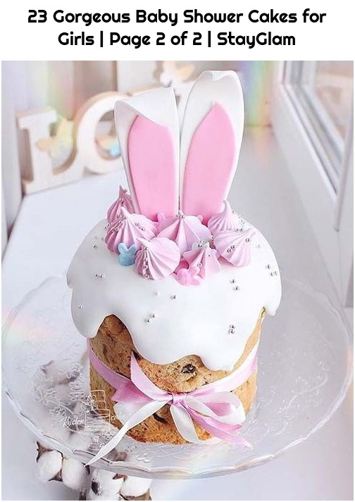 23 Gorgeous Baby Shower Cakes for Girls | Page 2 of 2 | StayGlam