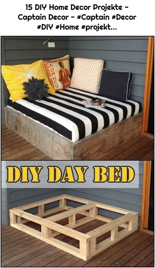 15 DIY Home Decor Projekte - Captain Decor - #Captain #Decor #DIY #Home #projekt...