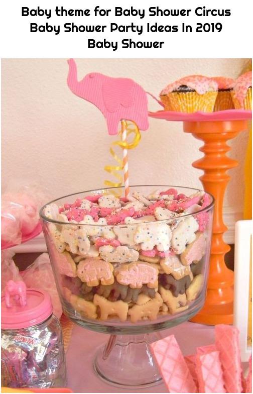 Baby theme for Baby Shower Circus Baby Shower Party Ideas In 2019 Baby Shower