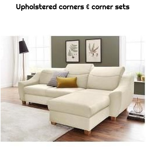 Upholstered corners & corner sets