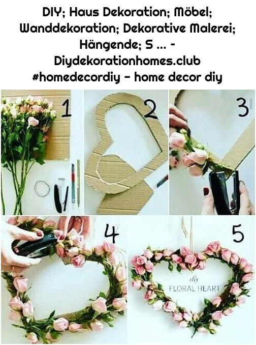 DIY; Haus Dekoration; Möbel; Wanddekoration; Dekorative Malerei; Hängende; S … – Diydekorationhomes.club #homedecordiy - home decor diy